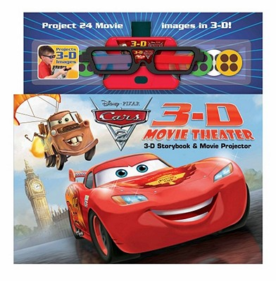 Disney Pixar Cars 2 3D Movie Theater By Stierle, Cynthia